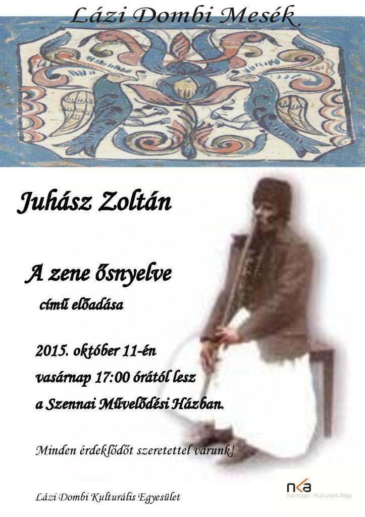 Plakát_Juhász Zoli_okt11